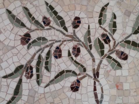 פסיפס אבן-זית-שבעת המינים
