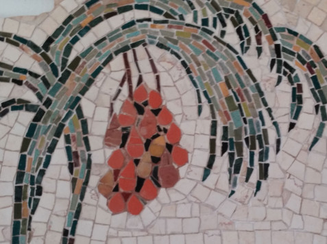 פסיפס אבן-שבעת המינים תמר