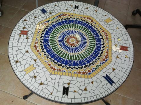 שולחן פסיפס מרוקאי-אושרית