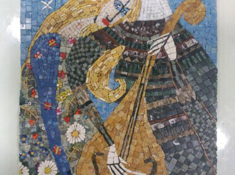 פסיפס אבן -זהר בהשראת ארינה