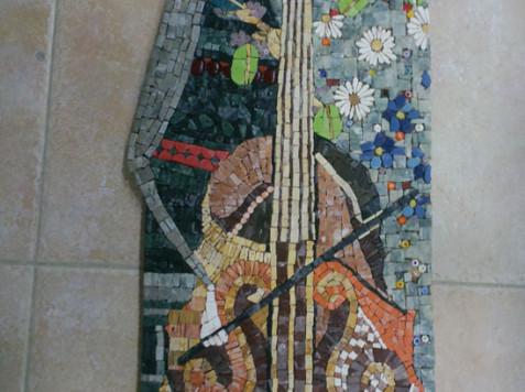 פסיפס אבן-זהר בהשראת ארינה