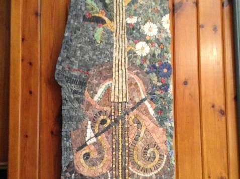 פסיפס אבן-עליזה בהשראת ארינה